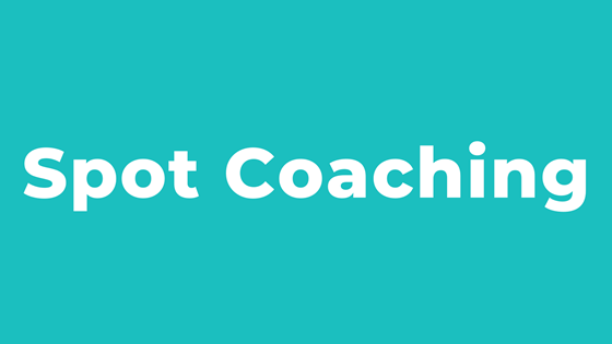 Spot Coaching with Wendy Wilson