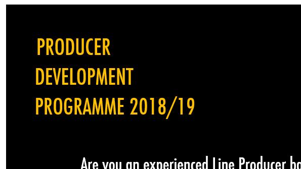 Producer Development Programme